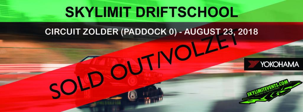 Aug driftschool paddock circuit zolder